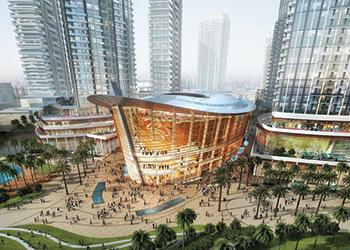 Dubai Opera House ... Geze solutions.