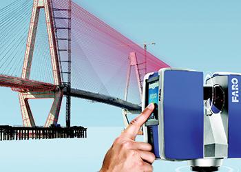 Faro 3D laser scanning ... numerous benefits.