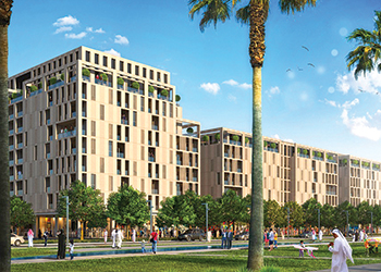 Al Mamsha ... pedestrian friendly residential community.