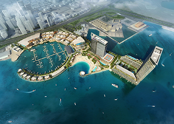 Bahrain Marina ... the masterplan.