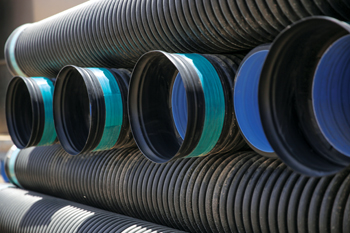 "HDPE corrugated pipes ... ""good substitute for GRP and clay pipes""."