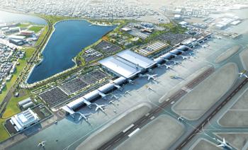 Bahrain Airport Modernisation Programme ... 40 per cent complete.