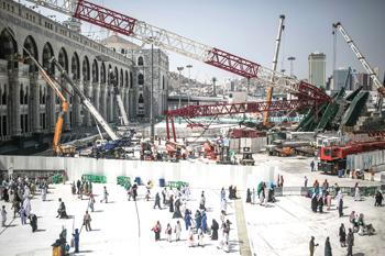 Makkah crane crash ... Saudi Binladin cleared.