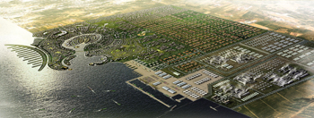 Jizan Economic City ... Arkaz to provide admixtures for the construction of marine structures.