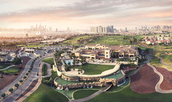 Jumeirah Golf Estates ... will boast 715 apartments and 95 townhouses.