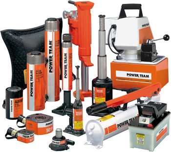 Tools and equipment from Power Team.