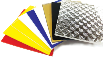 Rowad offers a choice of acrylic sheets.