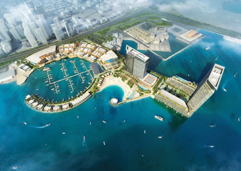 Bahrain Marina ... a world-class facility.