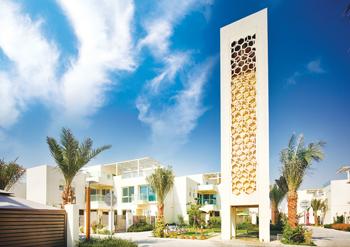 Dubai Sustainable City ... PalDuct PIR installed.