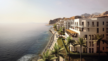 The Fujairah property ... an idyllic destination.