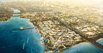 King Abdullah Economic City ... export zone and racing circuit on the cards.