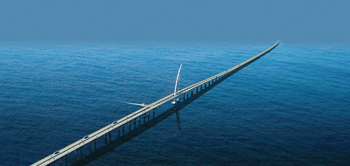Sheikh Jaber Al Ahmad Bridge ... scheduled for completion next year.