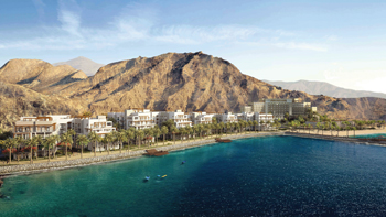 The Address resort in Fujairah ... scheduled for completion by 2019.