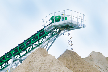 CDE systems ...produce high quality sand.