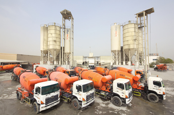 Tech Group opens fifth readymix concrete batching plant in Ajman.
