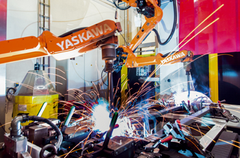 The new facility employs state-of-the-art welding processes and fully-automated robots.
